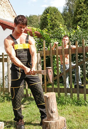 Gay Outdoor Pictures